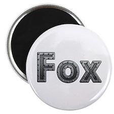 Fox Metal Round Magnet 10 Pack