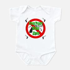 Private Property No Guns Allo Infant Bodysuit