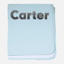 Carter Metal baby blanket
