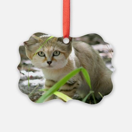 Sand Cat Genie Ornament