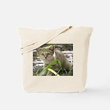Sand Cat Genie Tote Bag