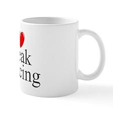 """I Love (Heart) Break Dancing"" Mug"