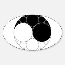 Fractal Yin-Yang Decal
