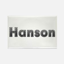 Hanson Metal Rectangle Magnet
