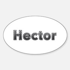 Hector Metal Oval Decal