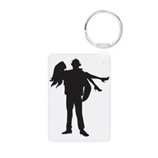Fireman's Wife Keychains