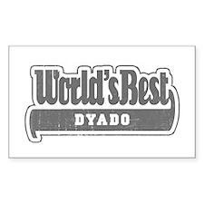 WB Grandpa [Bulgarian] Rectangle Decal