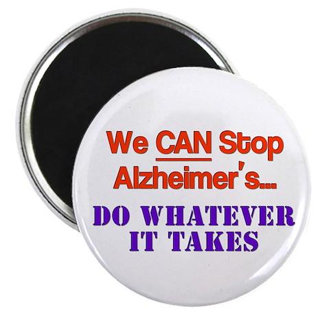 stop alzheimer's Magnet