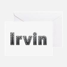 Irvin Metal Greeting Card