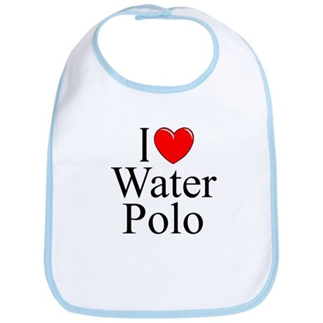 """I Love (Heart) Water Polo"" Bib"