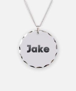 Jake Metal Necklace Circle Charm