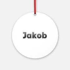 Jakob Metal Round Ornament
