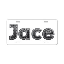 Jace Metal Aluminum License Plate