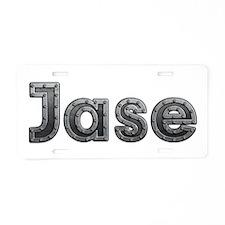 Jase Metal Aluminum License Plate