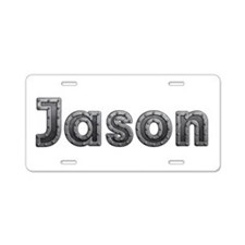 Jason Metal Aluminum License Plate