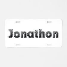 Jonathon Metal Aluminum License Plate