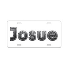 Josue Metal Aluminum License Plate