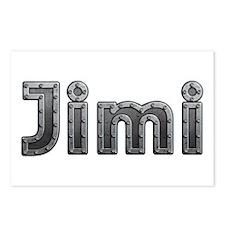 Jimi Metal Postcards 8 Pack