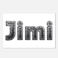 Jimi Metal Postcards 8 Pack