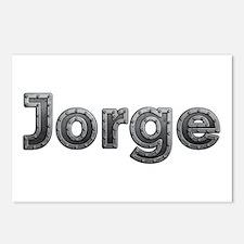 Jorge Metal Postcards 8 Pack