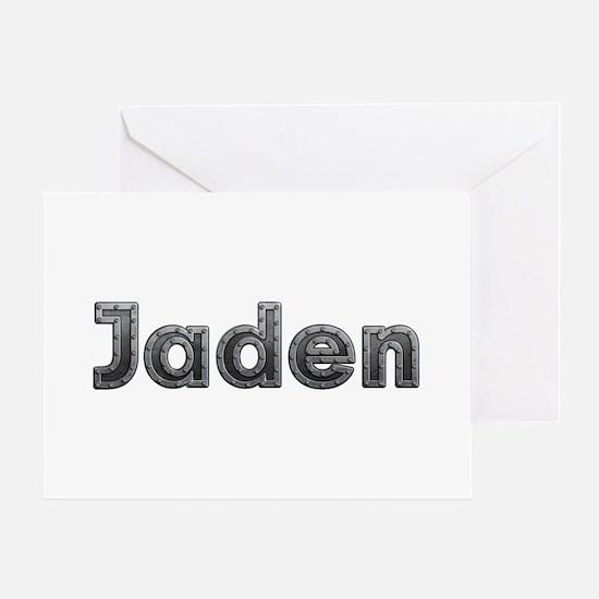 Jaden Metal Greeting Card