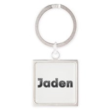 Jaden Metal Square Keychain