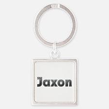 Jaxon Metal Square Keychain
