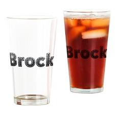 Brock Metal Drinking Glass