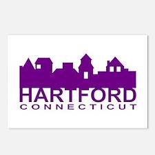 Hartford Skyline Postcards (Package of 8)
