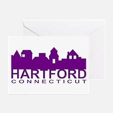 Hartford Skyline Greeting Cards (Pk of 10)