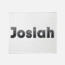 Josiah Metal Throw Blanket