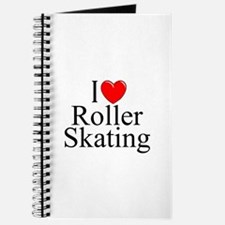 """""""I Love (Heart) Roller Skating"""" Journal"""
