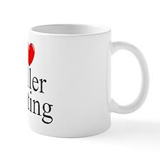 """I Love (Heart) Roller Skating"" Mug"