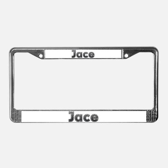 Jace Metal License Plate Frame