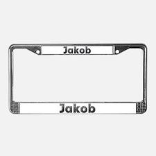 Jakob Metal License Plate Frame