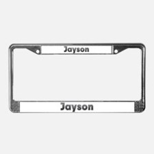 Jayson Metal License Plate Frame