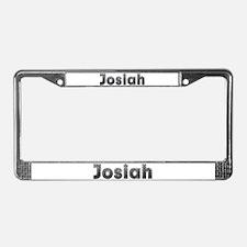 Josiah Metal License Plate Frame