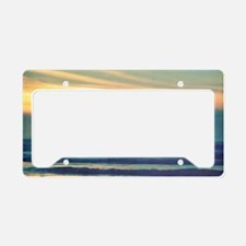 Take Me to the Sea License Plate Holder