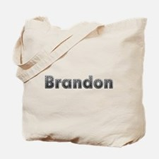 Brandon Metal Tote Bag