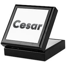 Cesar Metal Keepsake Box