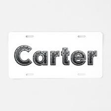Carter Metal Aluminum License Plate