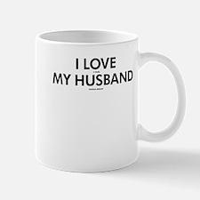 Personalized LOVE MY HUSBAND Mug