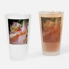 Pink orchid Drinking Glass