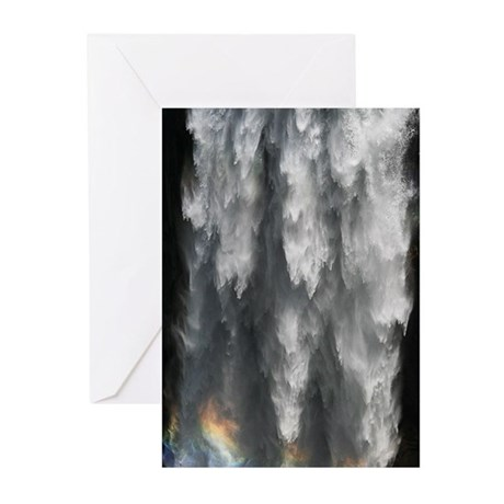Yosemite Waterfall with Rainbow (Pk of 10)