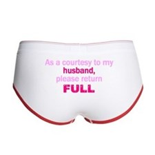 Return Full Women's Boy Brief