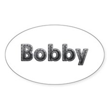Bobby Metal Oval Decal