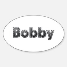 Bobby Metal Oval Decal