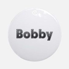 Bobby Metal Round Ornament