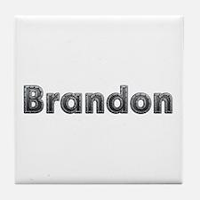 Brandon Metal Tile Coaster