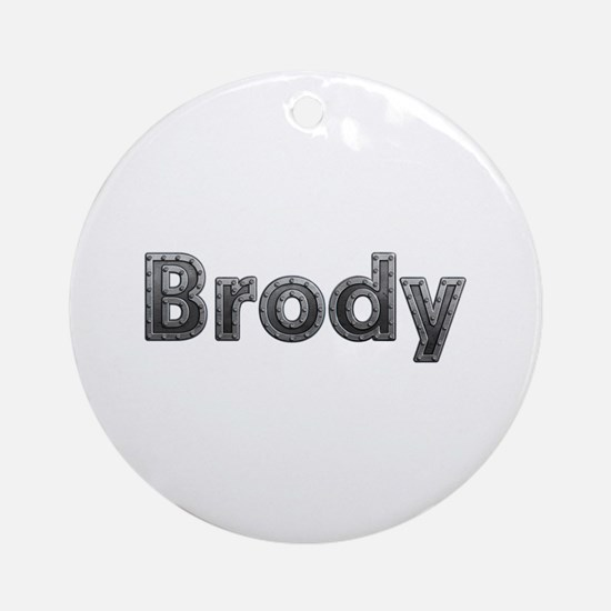 Brody Metal Round Ornament